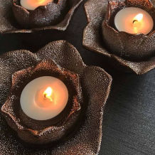 Natural soy wax scented tea lights